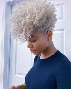 Tapered Haircuts & Fades for Women on Short Natural Hair