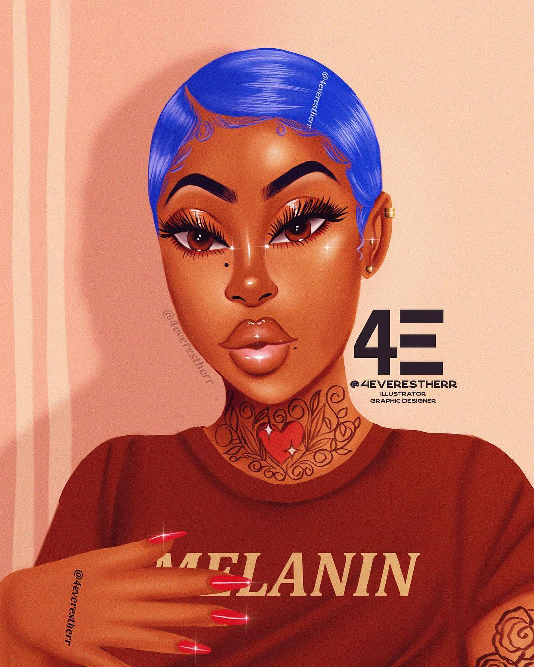 12 Black Illustrators to Follow On Instasgram in 2019