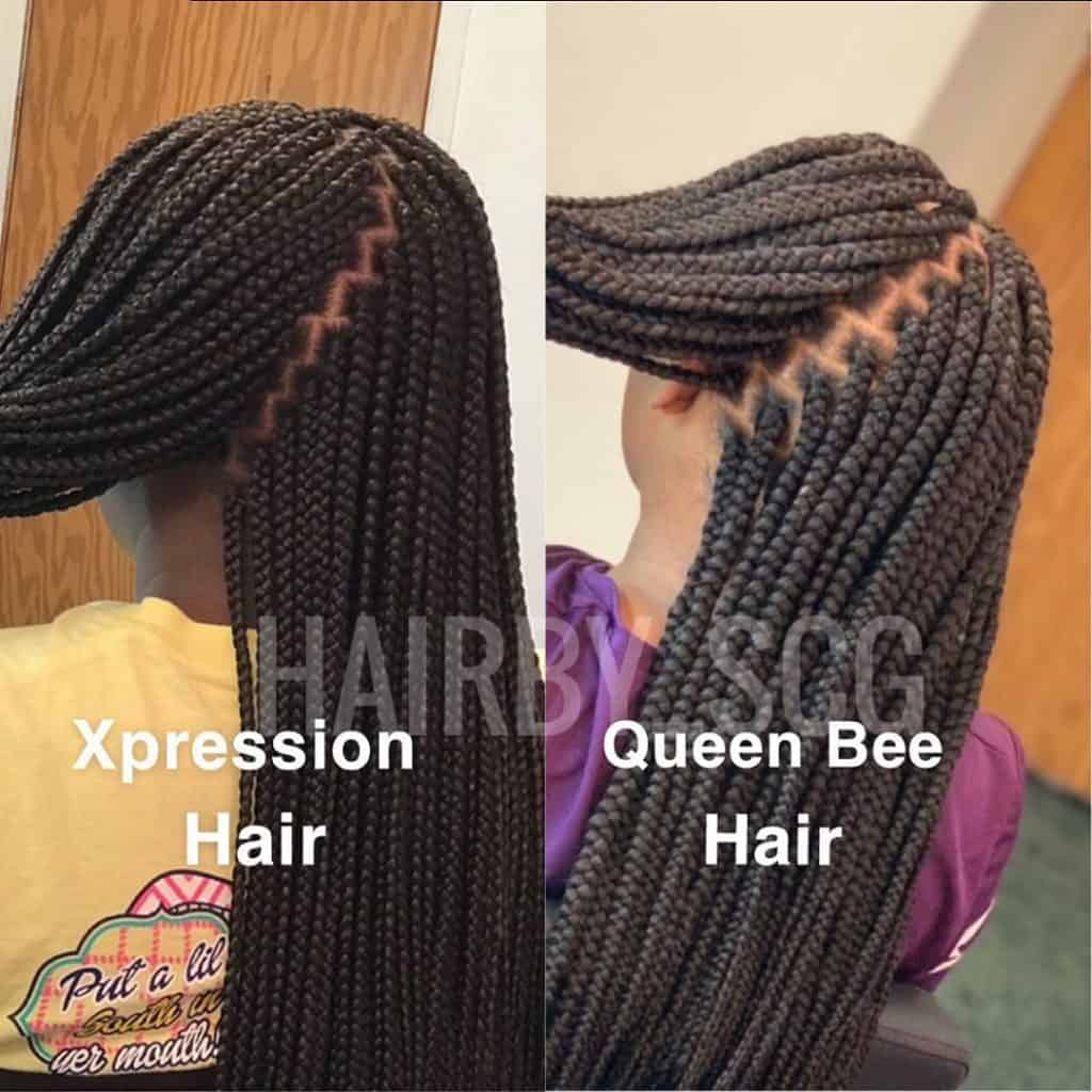 what kind of hair do you use for box braids?