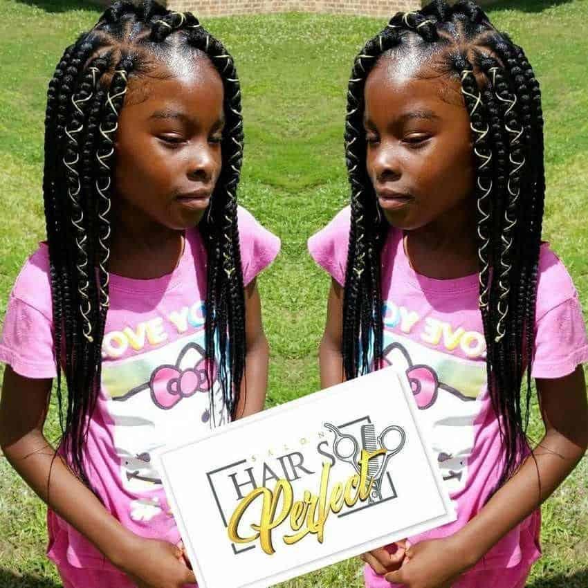large kids box braids