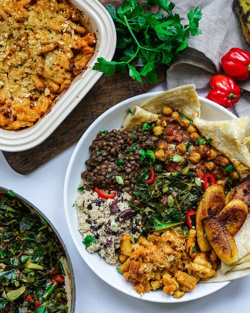 vegan caribbean feast recipe