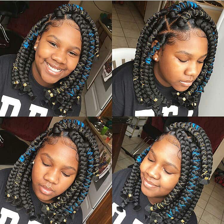 Kid Braid Styles Back To School Braided Hairstyles For