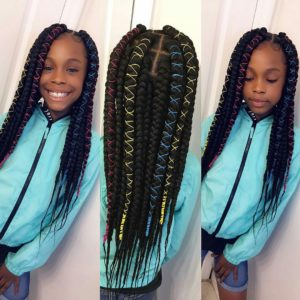 kids jumbo box braids