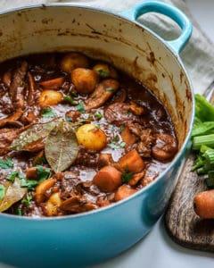 beefless vegan stew