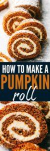 how to make pumpkin rolls