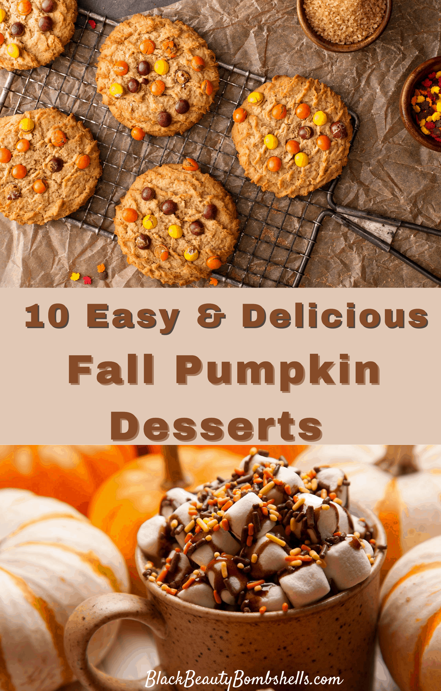 10 Easy & Delicious Fall Pumpkin Desserts You'll Love