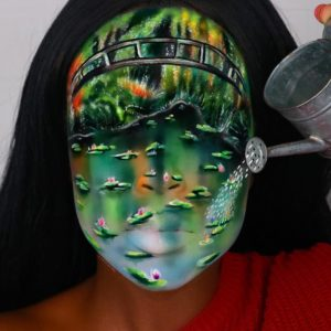 water illusion makeup