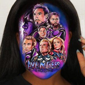 avengers makeup