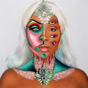 30 Illusion Makeup Looks for Halloween