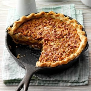 caramel pecan cheesecake pie