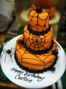 spider cake halloween cake ideas