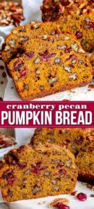 fall pumpkin bread