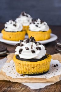 pumpkin dessert cheesecake