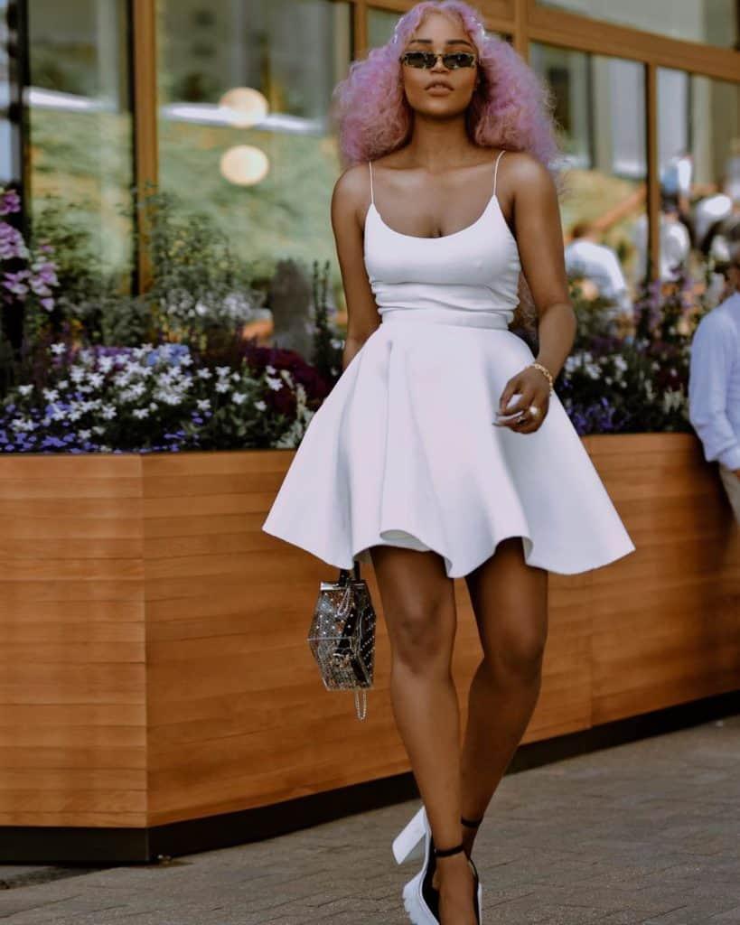 juliette foxx style all white