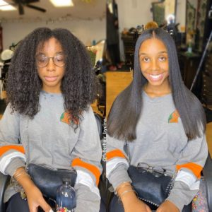 Silk Press 101: What is a Silk Press & How to Silk Press on Natural Hair