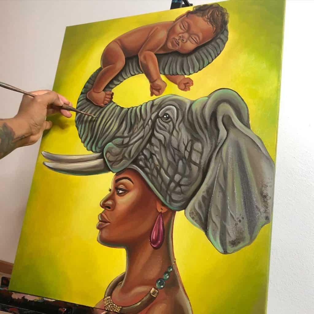 Brionya James artwork
