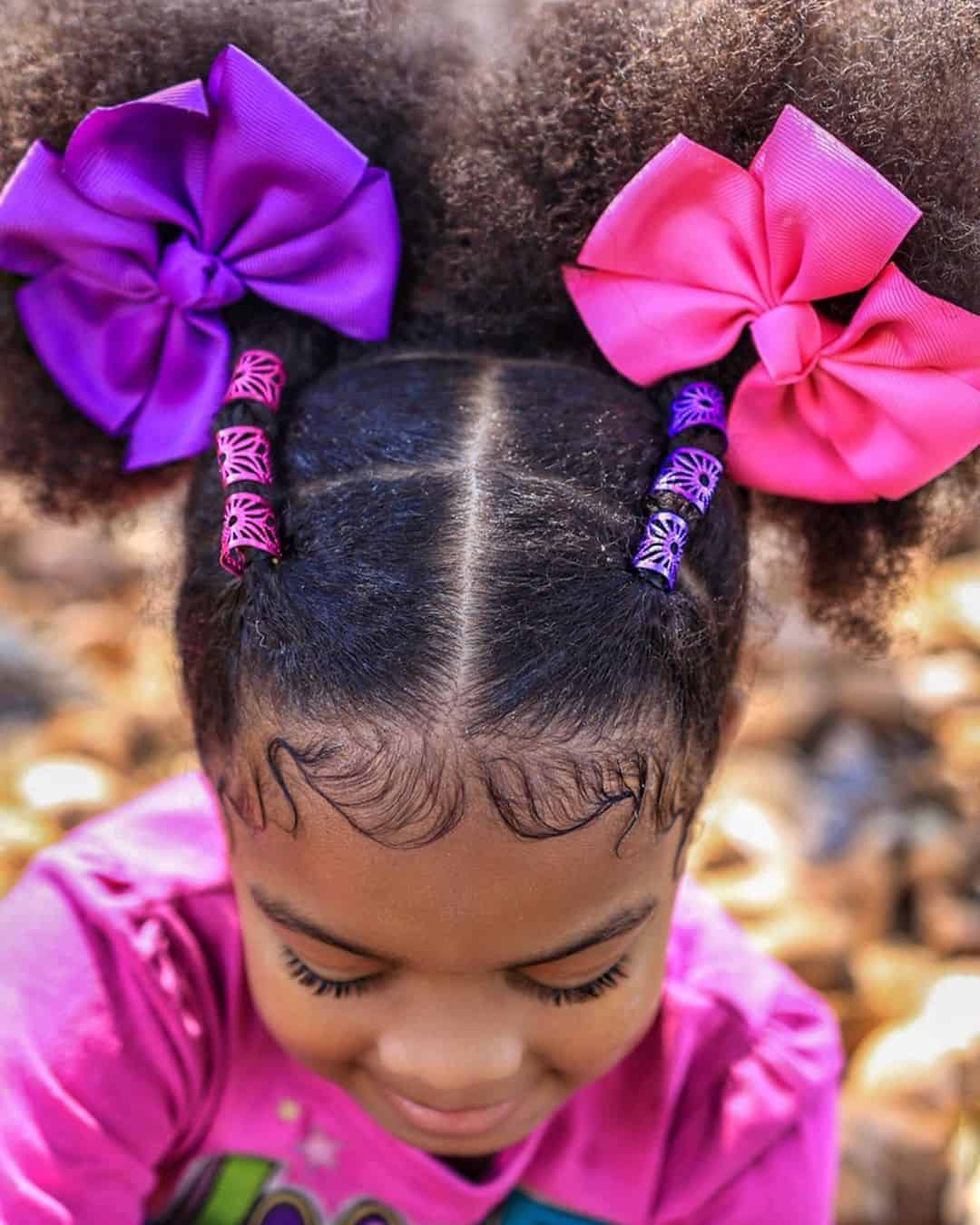 15 Easy Kids Natural Hairstyles