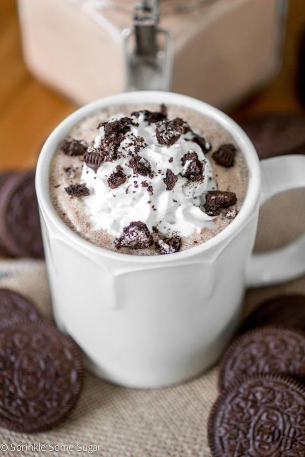 cookies and cream hot chocolate recipe