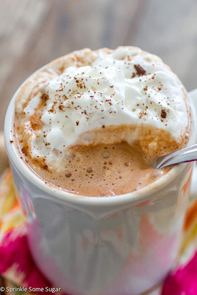 slow cooker mexican hot chocolate recipe