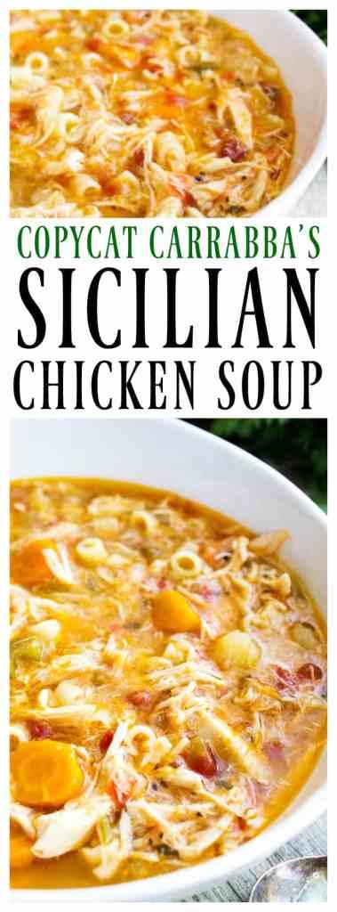 copycat carrabba's sicilian chicken soup