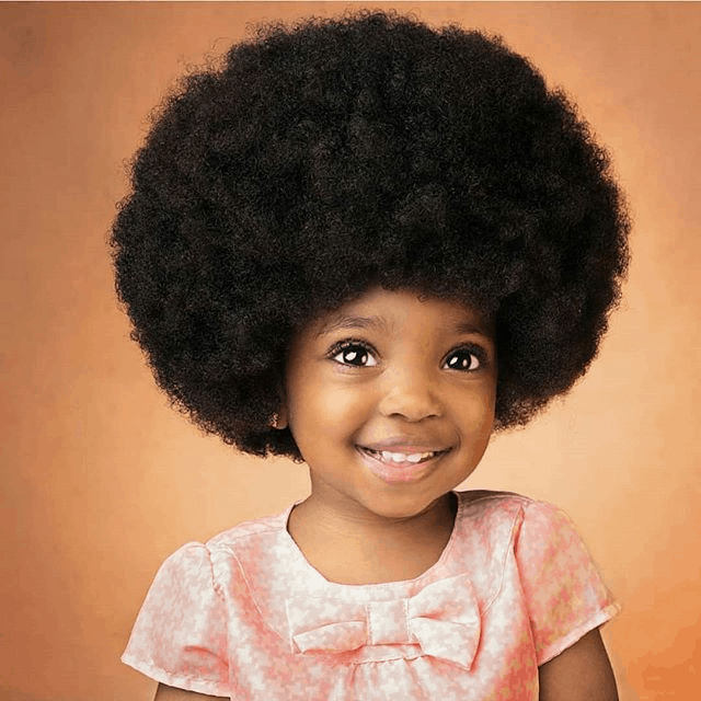 afro kids hairstyle