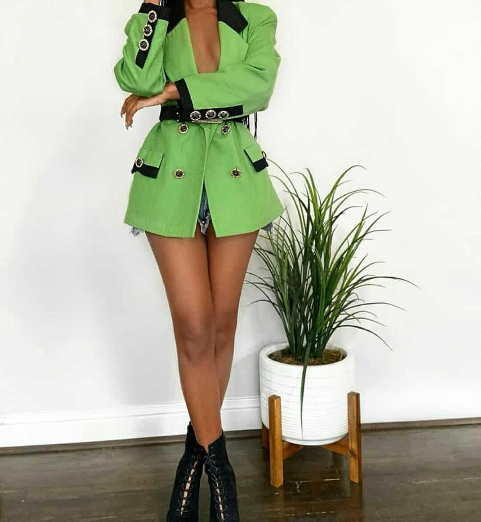 vintage neon blazer