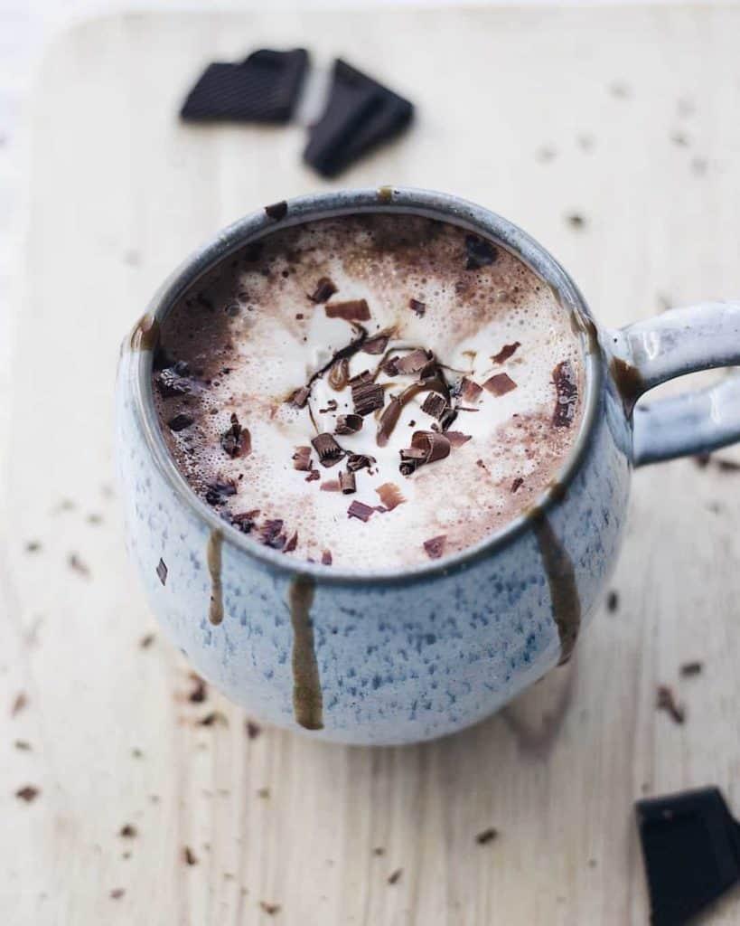 creamy oat milk hot chocolate recipe
