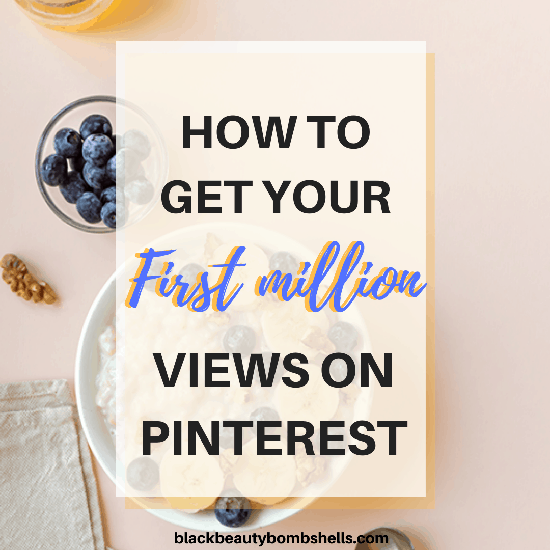 1 million views on Pinterest in 2020