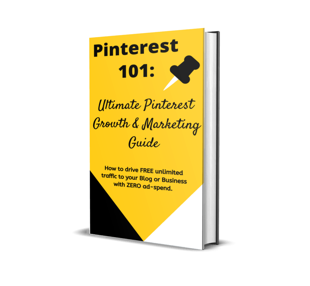 An ebook featuring latest top Pinterest Marketing Stategies for 2020 detailing all the guidelines and hacks of how to drive free unlimited traffic to your blog or business using Pinterest.