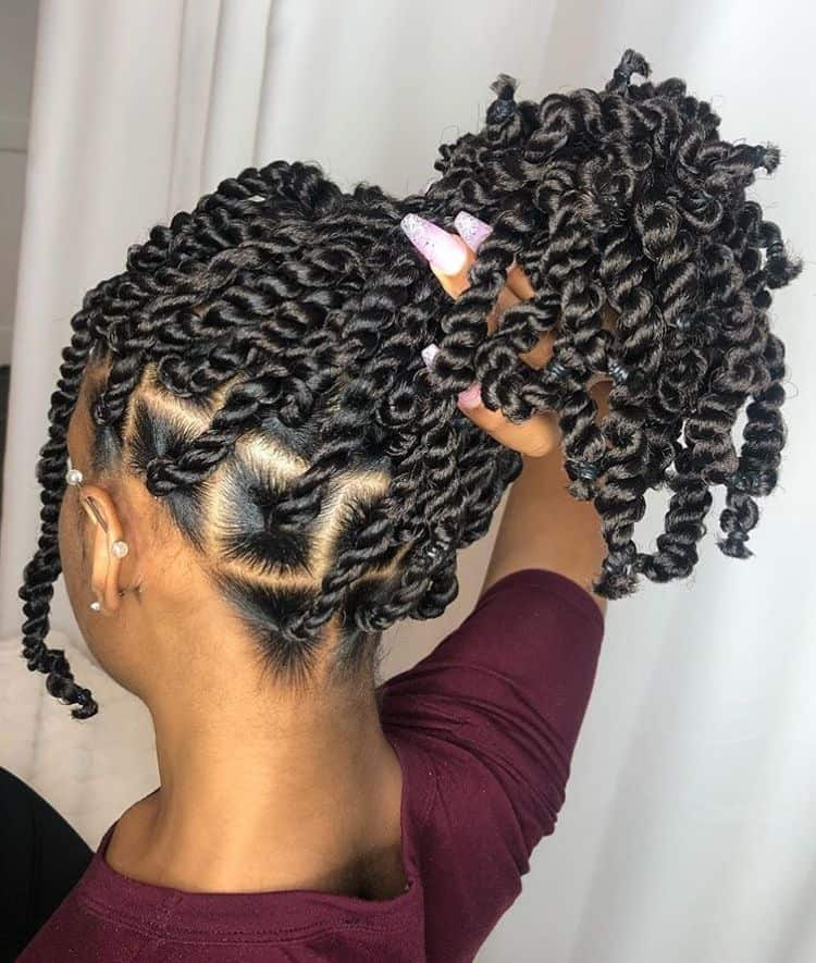 Short passion twists