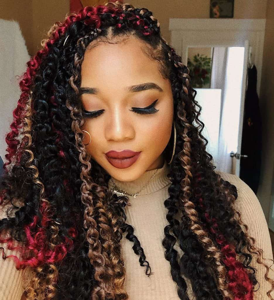 multi tone passion twists