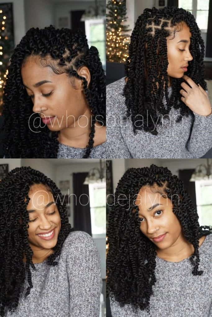 shoulder length passion twists