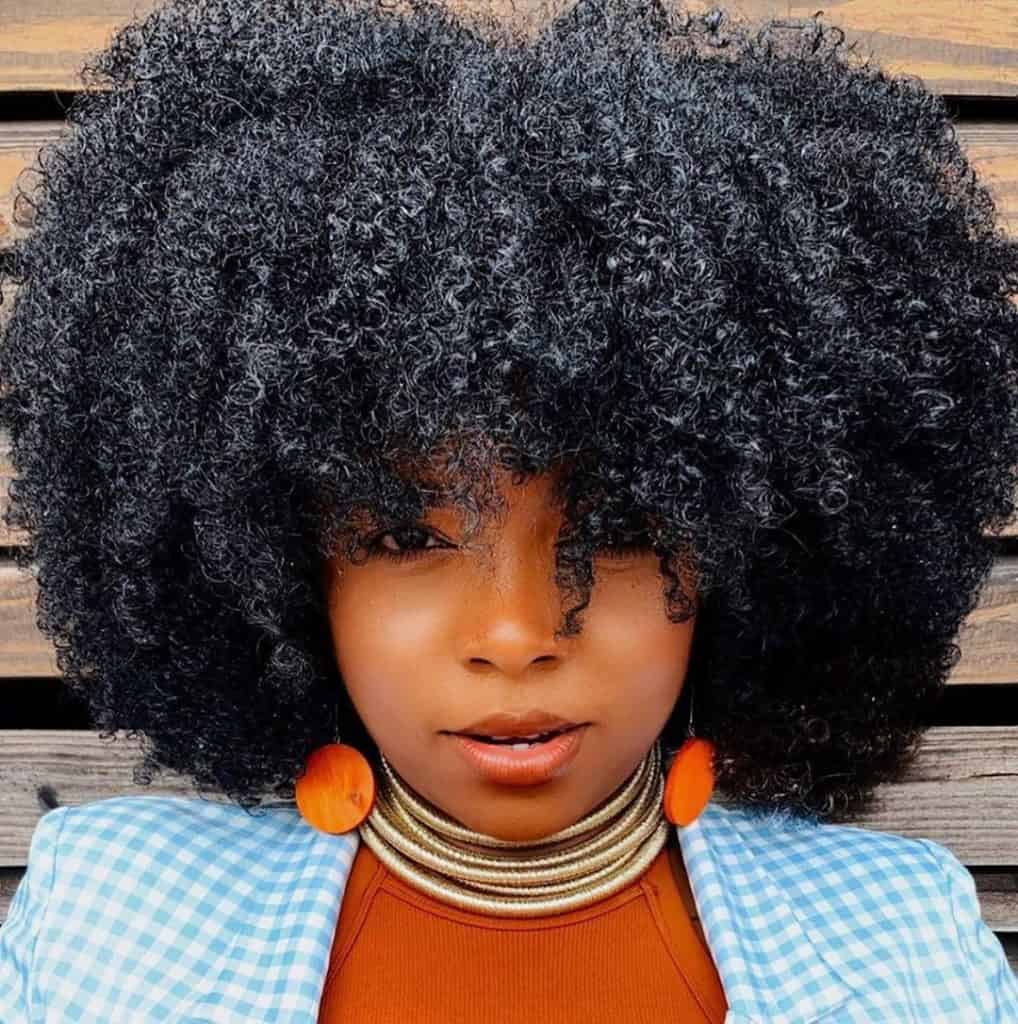 twist outs on natural hair