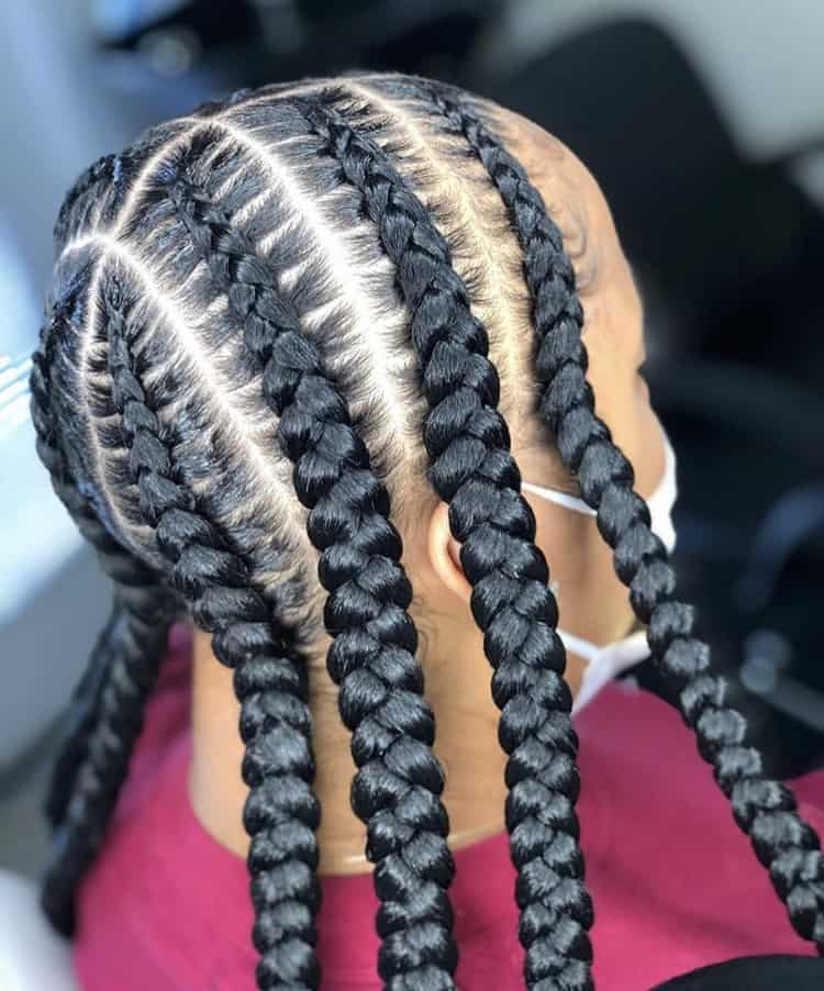 Jumbo pop smoke braids