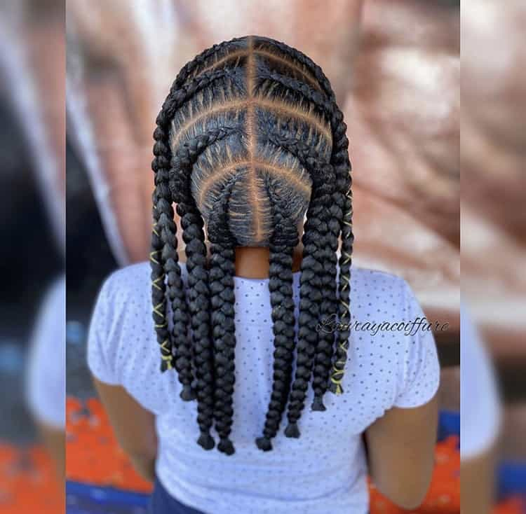 Jumbo short pop smoke braids