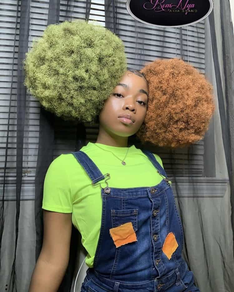 Black girl big puffs