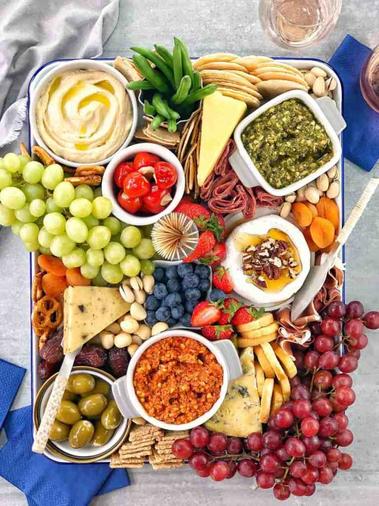 Perfect grazing board platter