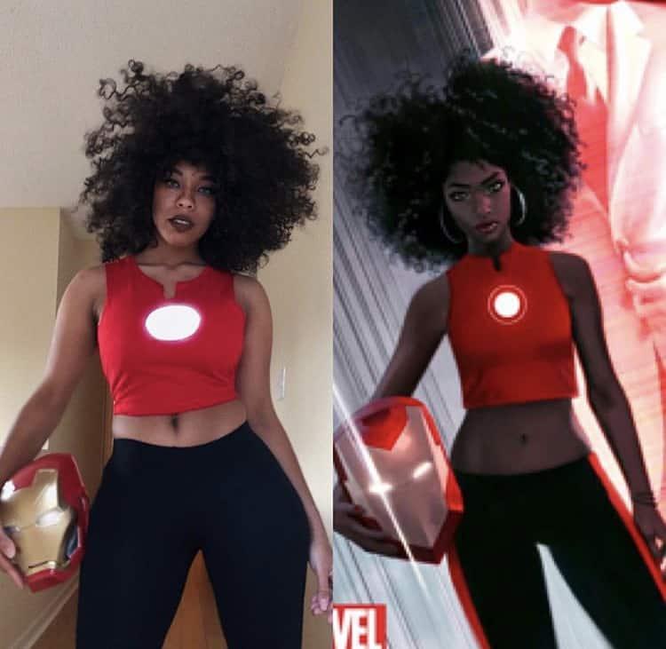 Riri williams cosplay