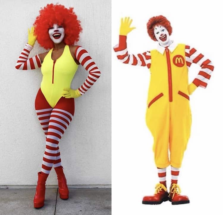 Clown Halloween cosplay