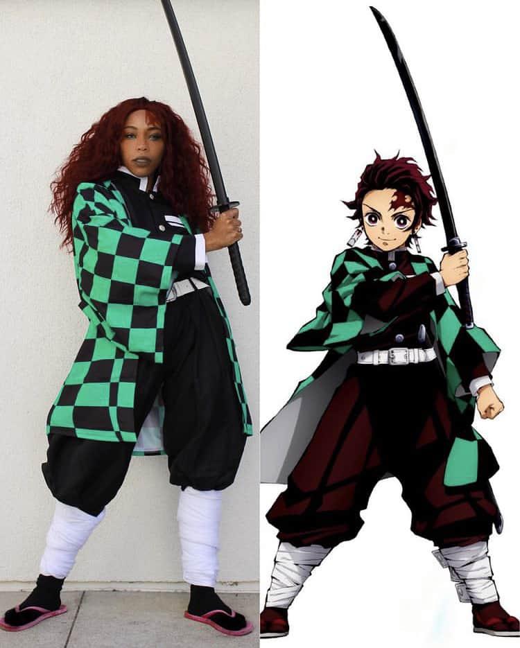Tanjiro cosplay
