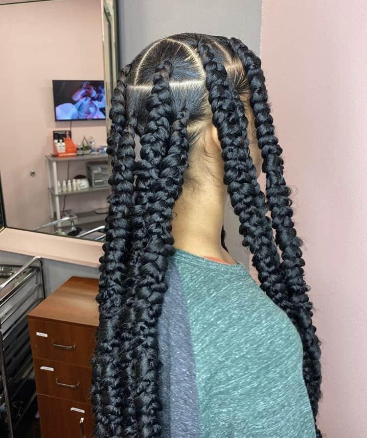 Jumbo passion braids