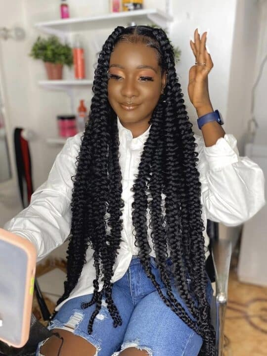Passion Braids: How to, Type of Hair Used & Styles