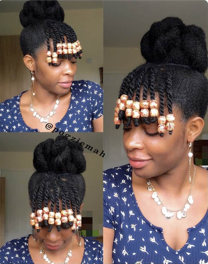Cute 4c hair hairstyles
