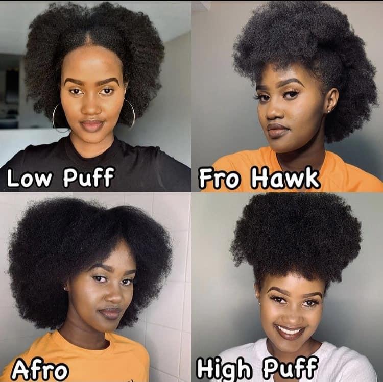 Low manipulation 4c hair hairstyles