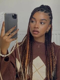 box braids hairstyles for Black women to try in 2021