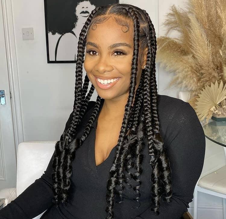 Coi leray inspired braids