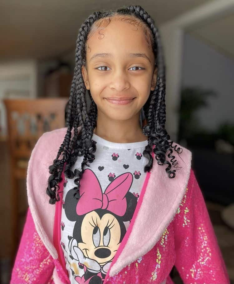 Coi leray braids for kids