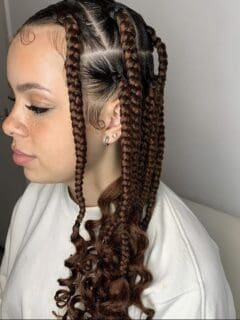 Coi Leray Inspired Braids
