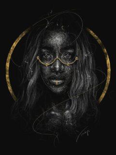 Black digital artist