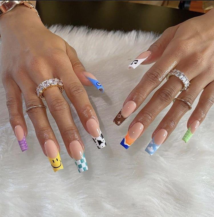 summer nails pick